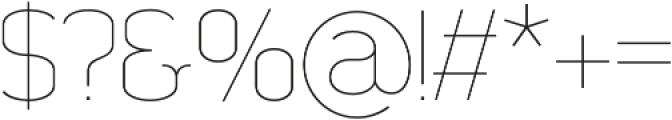 Somatype Light otf (300) Font OTHER CHARS