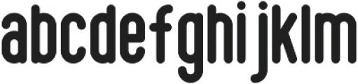 Somber Sans ttf (400) Font LOWERCASE