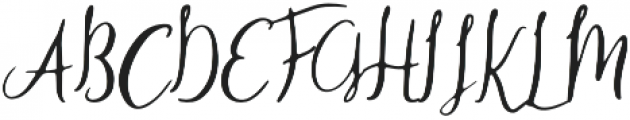 SomeOne otf (400) Font UPPERCASE