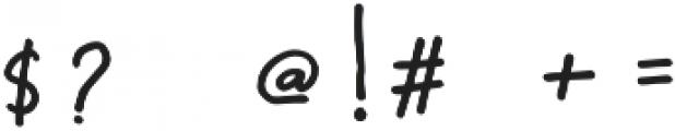 Someday Sans Regular otf (400) Font OTHER CHARS