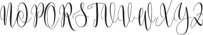 Someday ttf (400) Font UPPERCASE