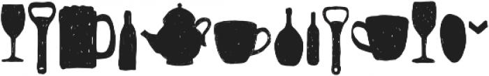 Somehand Stuff otf (400) Font UPPERCASE