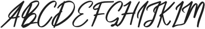 Something Cool Script otf (100) Font UPPERCASE