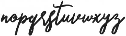 Something Cool Script otf (100) Font LOWERCASE
