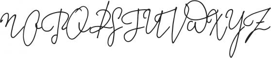 Something Exquisite Swash2 otf (100) Font UPPERCASE