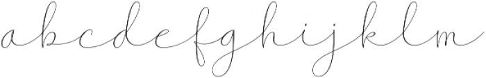 Somethings1 otf (100) Font LOWERCASE