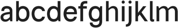 Somma Medium otf (500) Font LOWERCASE