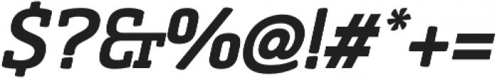 Sommet Slab Rnd Black Italic otf (900) Font OTHER CHARS