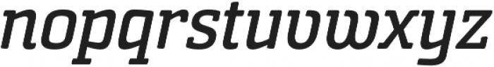 Sommet Slab Rnd Bold Italic otf (700) Font LOWERCASE
