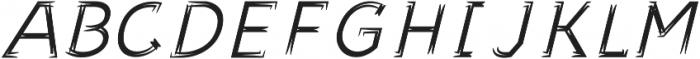 Sonif Farm Brush Italic otf (400) Font UPPERCASE