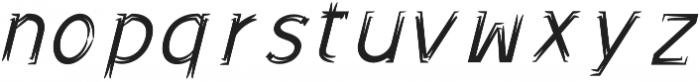 Sonif Farm Brush Italic otf (400) Font LOWERCASE