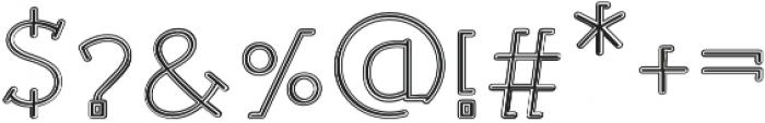 Sonif Sport Regular otf (400) Font OTHER CHARS