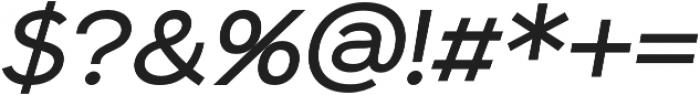 Sonika otf (400) Font OTHER CHARS