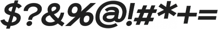 Sonika otf (700) Font OTHER CHARS