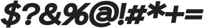 Sonika otf (900) Font OTHER CHARS