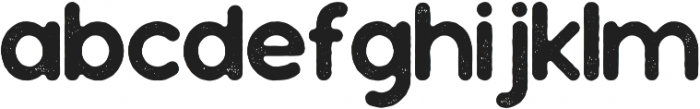 Sonorous Textured otf (400) Font LOWERCASE