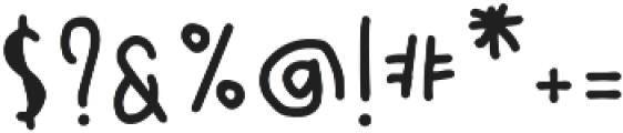 SontOyolo Bold otf (700) Font OTHER CHARS