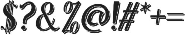 Sonten 3D ttf (400) Font OTHER CHARS