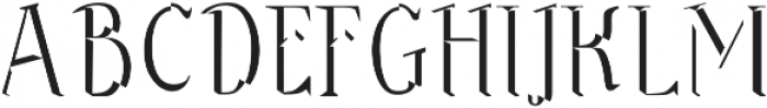 Sonten Bevel-Figure ttf (400) Font UPPERCASE