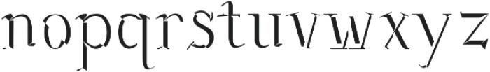 Sonten Bevel-Figure ttf (400) Font LOWERCASE
