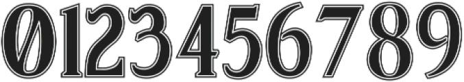 Sonten Contour ttf (400) Font OTHER CHARS