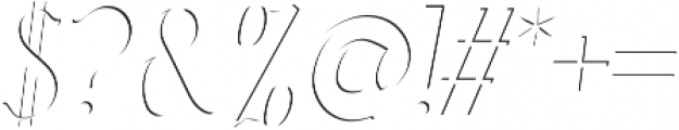 Sonten-Highlight Layer ttf (300) Font OTHER CHARS