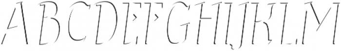 Sonten-Highlight Layer ttf (300) Font UPPERCASE