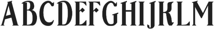 Sonten Outline-Figure ttf (400) Font UPPERCASE
