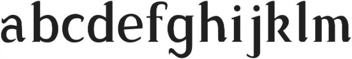 Sonten Outline-Figure ttf (400) Font LOWERCASE