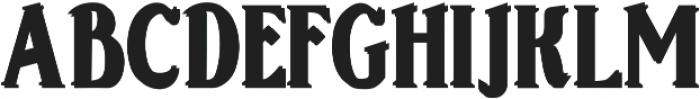 Sonten Outline-Ground ttf (400) Font UPPERCASE