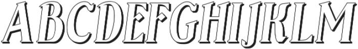Sonten Outline ttf (400) Font UPPERCASE