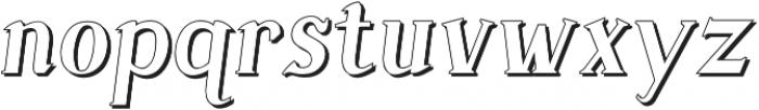 Sonten Outline ttf (400) Font LOWERCASE