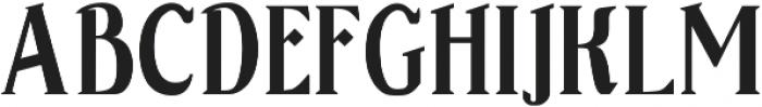 Sonten Shadow-Figure ttf (400) Font UPPERCASE