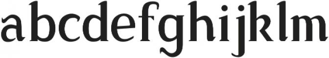 Sonten Shadow-Figure ttf (400) Font LOWERCASE