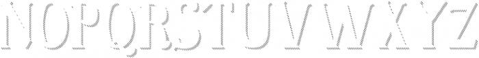 Sonten Shadow-Ground ttf (400) Font UPPERCASE