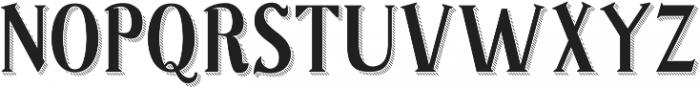 Sonten Shadow ttf (400) Font UPPERCASE