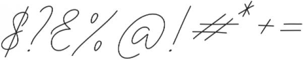 Sophia Christie Regular otf (400) Font OTHER CHARS