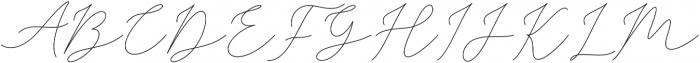 Sophia Christie Regular otf (400) Font UPPERCASE
