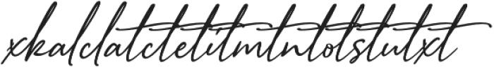 Sophistica 13 otf (400) Font LOWERCASE