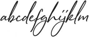 Sophistica 14 otf (400) Font LOWERCASE