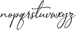 Sophistica 4 otf (400) Font LOWERCASE