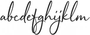 Sophistica 6 otf (400) Font LOWERCASE