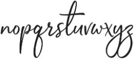 Sophistica 7 otf (400) Font LOWERCASE