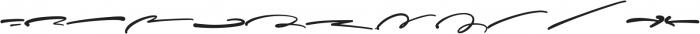 Sophisticated Signature Swash otf (400) Font LOWERCASE