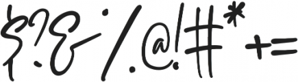 Sophisticated Signature otf (400) Font OTHER CHARS
