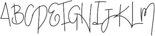 SophisticatedOutfit otf (400) Font UPPERCASE