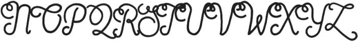 Sortdecai Cursive Wild Script otf (400) Font UPPERCASE