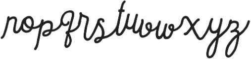 Sortdecai Cursive Wild Script otf (400) Font LOWERCASE