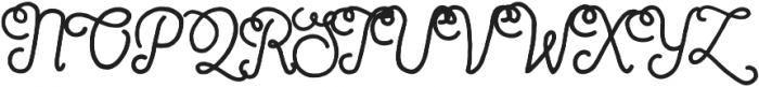 Sortdecai Cursive Wild Script ttf (400) Font UPPERCASE