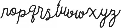 Sortdecai Cursive Wild Script ttf (400) Font LOWERCASE